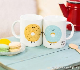 Two Mugs Donuts