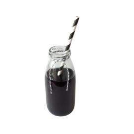 Paper Straws - Black