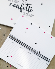 WEEKLY PLANNER small - SMILES