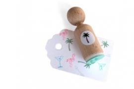 Pawn Stamp - Palm tree