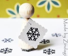 Mini stamp - Snowflake