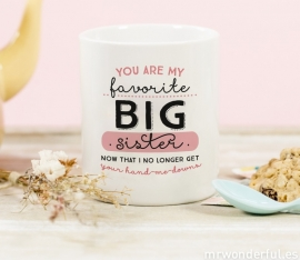 Mug Favorite Big Sister