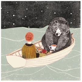 Postcard Boat