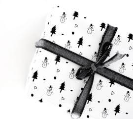 Inpakpapier | Snowman | 70 x 50 cm
