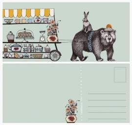 Postkaart Winkeltje