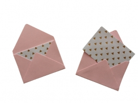 Mini envelope - Pink.14