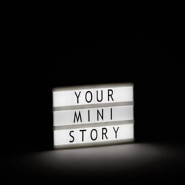 MINI LIGHTBOX A6 - mint