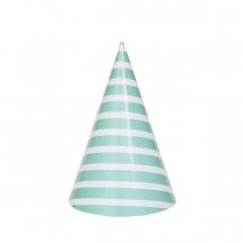 Paper Hats - Aqua