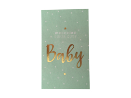 Stickers Baby Goldfoil mint