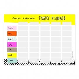 Super organized family planner
