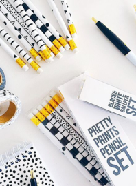 Pretty Prints Pencil set