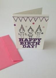 Happy Birthday Tobi Party - Pink