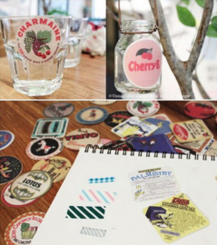 Stickerset - Scrapbooking Vintage Chic