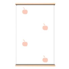 Behangpapier Pink apples