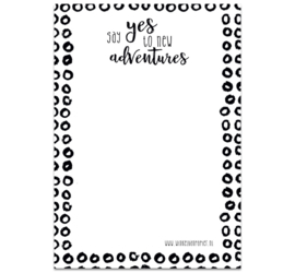 Notepad A5 ADVENTURES