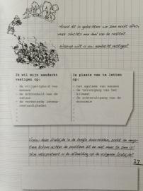 Werkschrift - Positief denken
