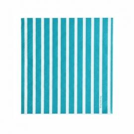 Papieren servetten - turquoise