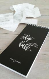 JUST LET ME SHOP - Notepad