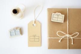 Stempel Cadeautje - Studio Maas