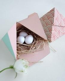 Gift Box Template - Pyramid