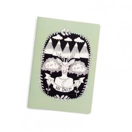 """Notebook A5 """"hi deer"""""""