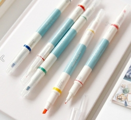 Double sided Color Markers