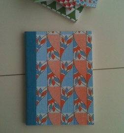 Notebook Blue Flower