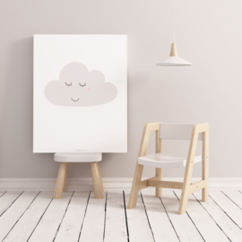 POSTER A4 SLEEPY CLOUD