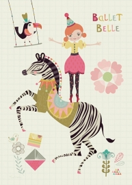 Bee Brown | Card Ballet Belle