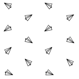 Behangpapier Paper planes