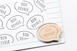 Stempel Bon Voyage - Studio Maas