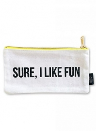 Canvas bag Sure I like fun S