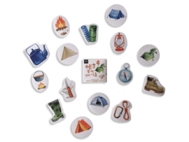 Stickerset - Camping