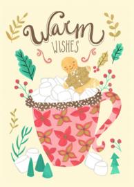 Bianca Pozzi | Ansichtkaart Warm Wishes