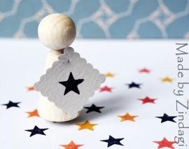 Mini stamp - Star