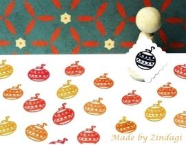 Mini Stempel - Kerstbal