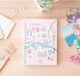 Notebook Lovely Streets - Parijs