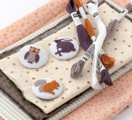 Embroidery set Buttons
