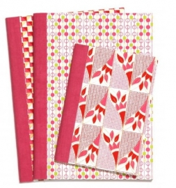 Notebook Pink Square