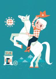 Irene Chan - Kaart Cowboy