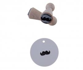Mini stempel - Snor