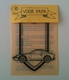 Voor papa - Opel GT op krimpfolie