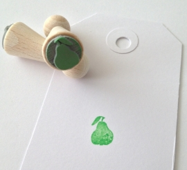 Mini stamp - Pear
