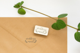 Stempel Wedding Mail Studio Maas