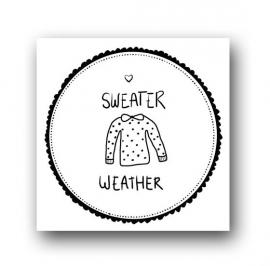 Card Sweater weather