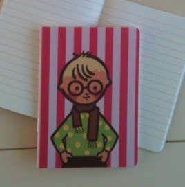 Writing notebook - Boy with the glasses
