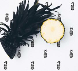 Behangpapier Ananas