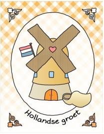 Groetjes uit Holland - molen