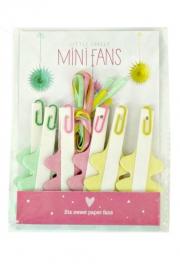 Mini Paper Fans