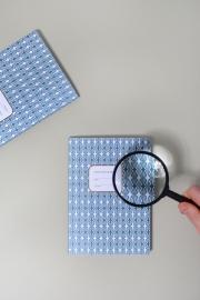 Notebook atomic blue
